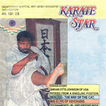 Karate Star Magazine, Cover Story: Shihan Otto Johnson Kicking From a Kneeling Position