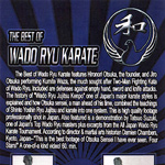 The Best of Wado Ryu Karate, video cover, front
